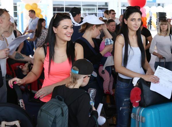 Antalya'ya mayıs ayında turist bereketi