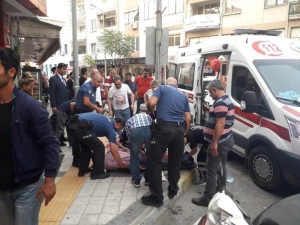 Aydın'da bıçaklı saldırı: 1 yaralı