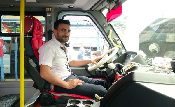 Pendik'te fenalaşan yolcuyu hastaneye yetiştiren şoför