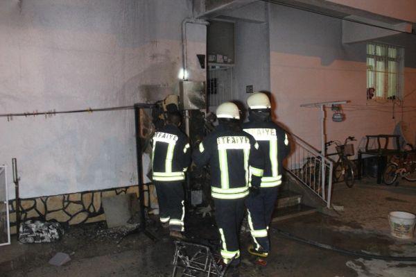 Karaman'da yanan bebek arabası faciaya neden oluyordu