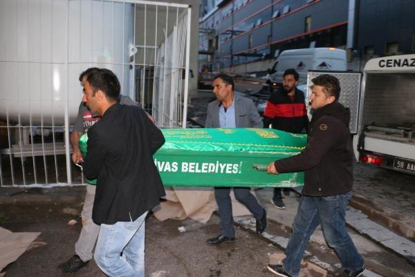 Sivas'ta yıldırım isabet eden kadın yaşamını yitirdi