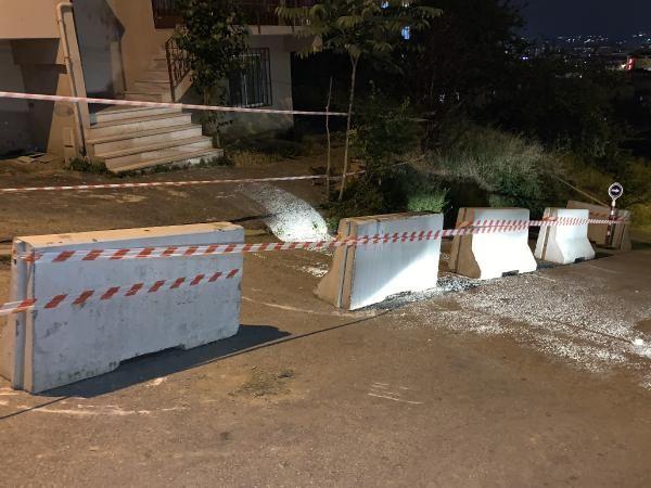 Pendik'te bir bina yıkılma tehlikesi nedeniyle boşaltıldı