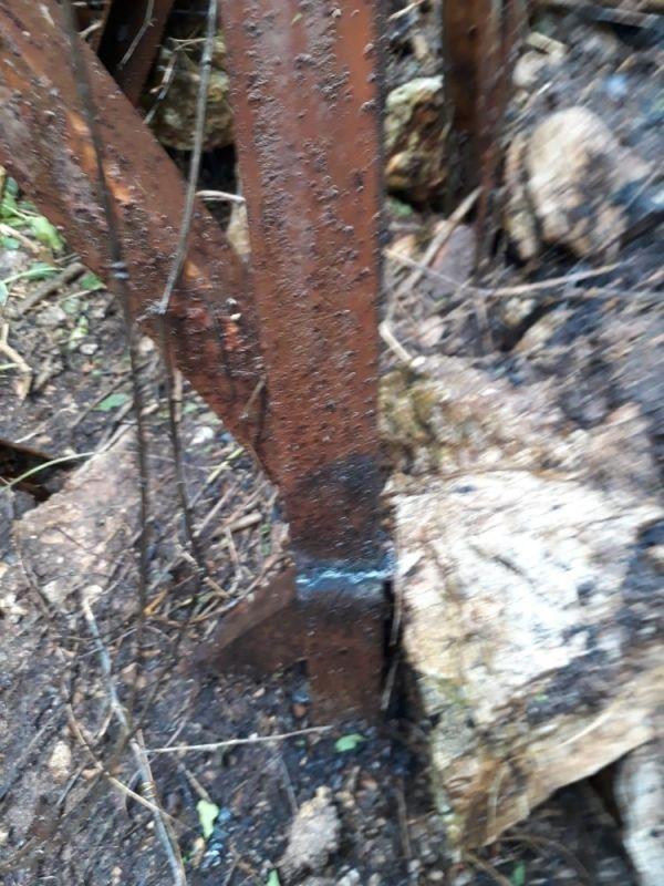 Hurdacılar ormanı yaktı