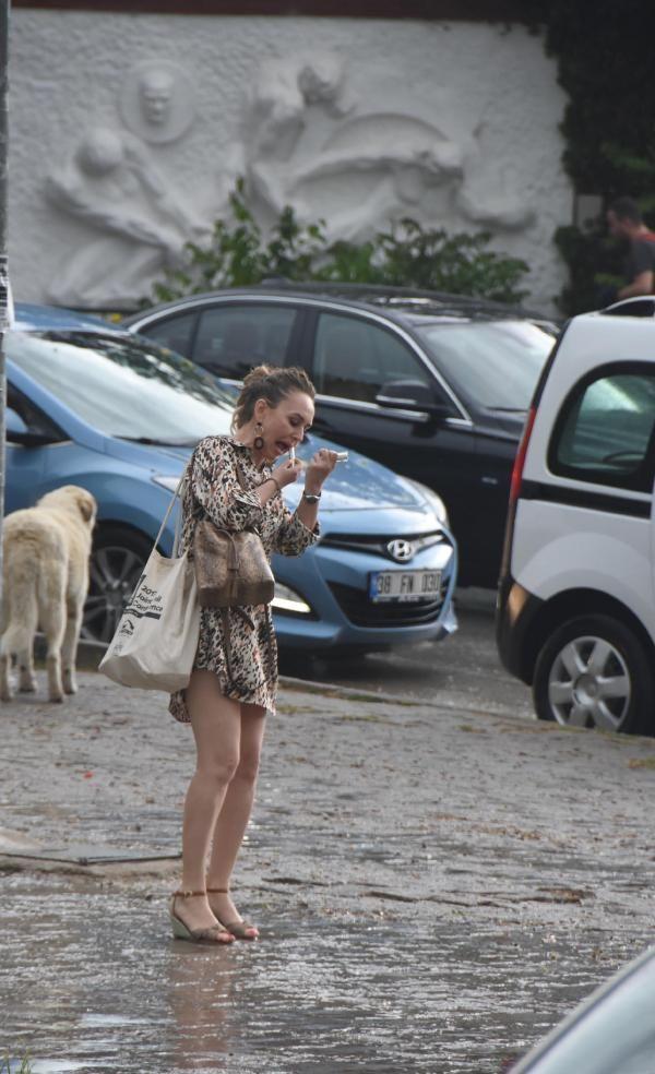 Eskişehir'de yağmur ve dolu etkili oldu