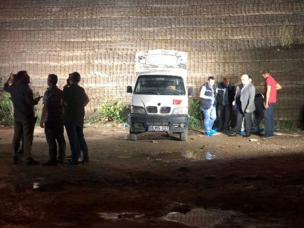 Bursa'da boş arsa üzerinde kadın cesedi bulundu