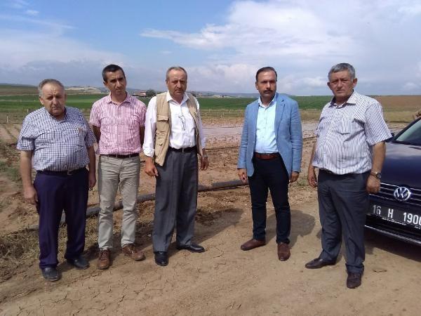 Yenişehir Ovası'nda 70 bin dönüm ekili alan su altında