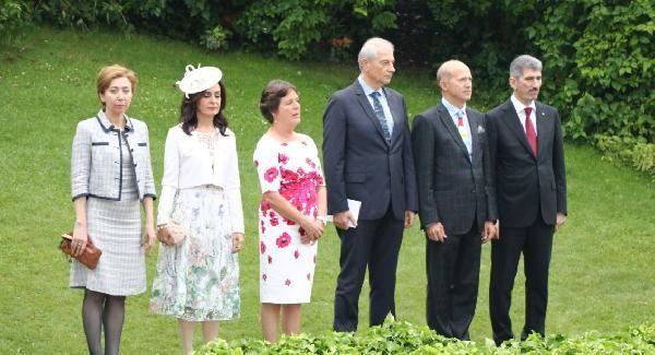 Kraliçe 2'nci Elizabet'in 93'üncü yaş günü Ankara'da kutlandı