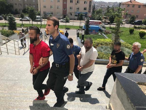 Kadın polislere laf atan 4 Kocaelili gözaltında
