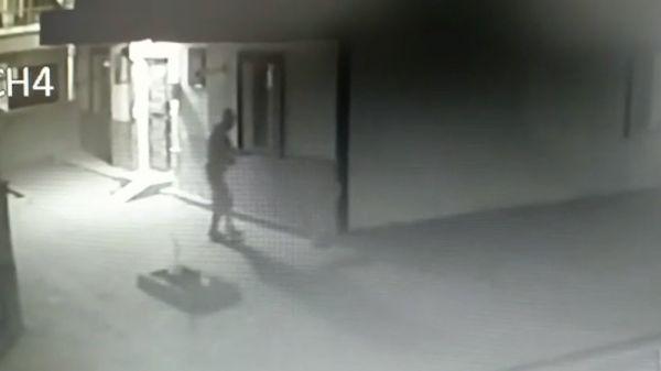 Kırıkkale'de kıyafet hırsızı yakalandı