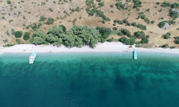 Van Gölü'nde yaz rotaları