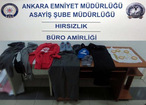 Ankara'da, hırsızlık çetesine operasyon