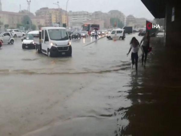 İtalya'da dolu 18 kişiyi yaraladı