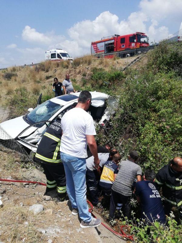 Hatay'da feci trafik kazası: 3 ölü, 2 yaralı