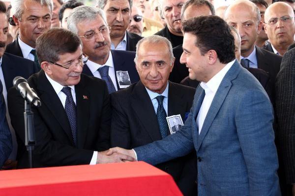 Ali Babacan, Dengir Mir Mehmet Fırat'ın cenazesinde