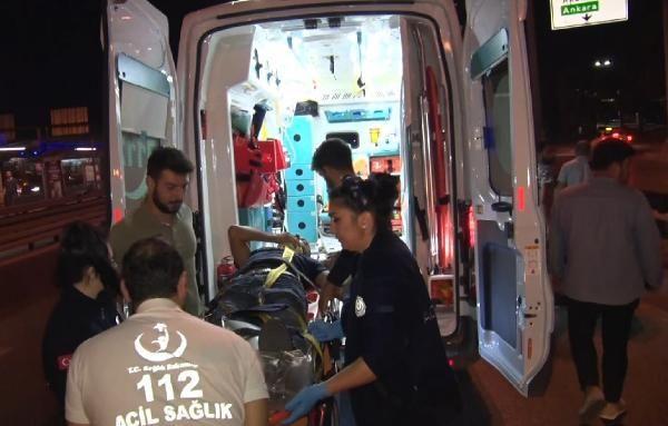 İstanbul D-100 karayolunda trafik kazası: 1 yaralı
