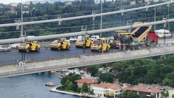 FSM'de son kat asfalt çalışmasına geçildi