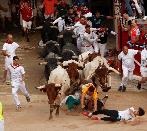 İspanya'daki Boğa Festivali'nde son gün