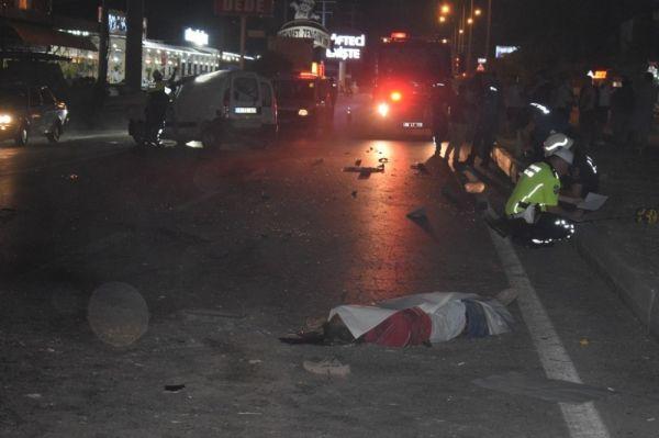 Aydın'da trafik kazası: 1 ölü 1 yaralı