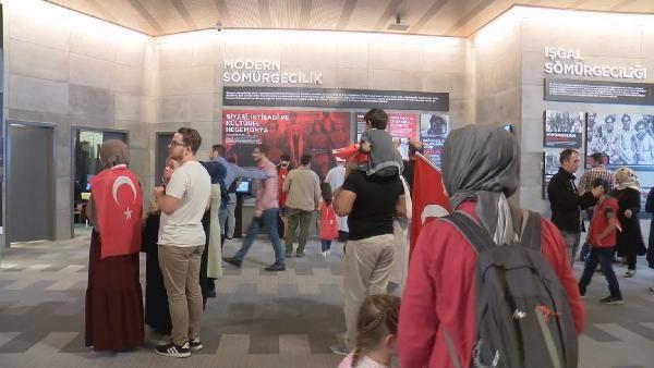 Erdoğan, Hafıza 15 Temmuz Müzesi'ni açtı