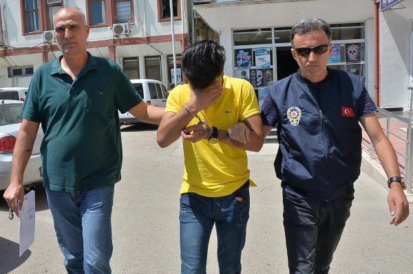Masaj salonunda fuhuş yaptıran genç tutuklandı