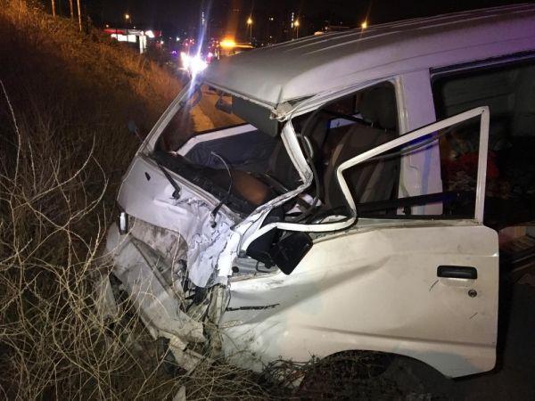 Şile yolunda kaza: 2 ölü 5 yaralı