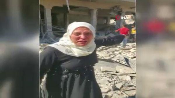 İdlibli kadının yardım çığlığı: Trump, bunları durdur