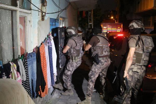 Ataşehir'de helikopter destekli narkotik operasyonu