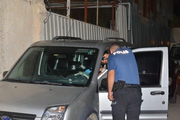Adana'da güvenlik görevlisine silahlı saldırı