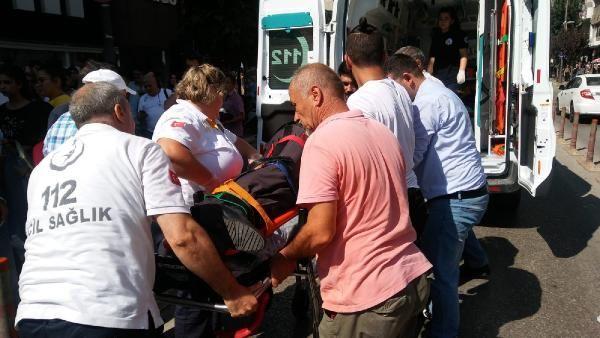 Balıkesir'de yürüyüş yapan yaşlı adama motor çarptı