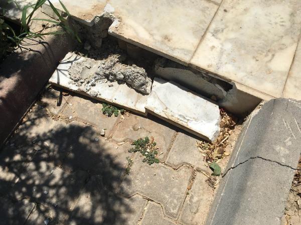 15 Temmuz şehidinin mezarındaki demir korkuluklar çalındı