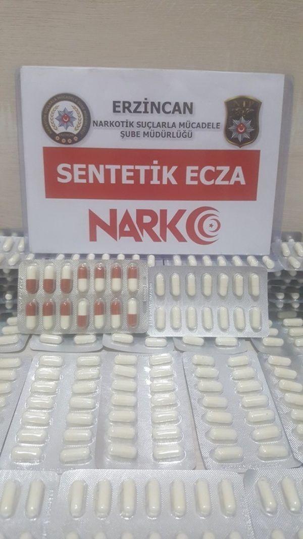 Erzincan'da uyuşturucu operasyonu: 3 tutuklama