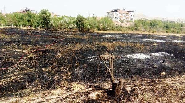 Malatya'da iki farklı alanda yangın: 20 hektarlık kül oldu