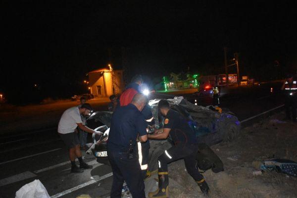 Kastamonu'daki trafik kazasında 40 günlük bebek öldü