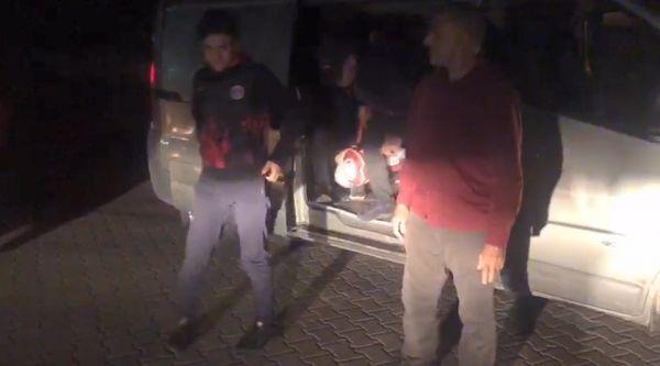 Tekirdağ'da 75 kaçak göçmen yakalandı