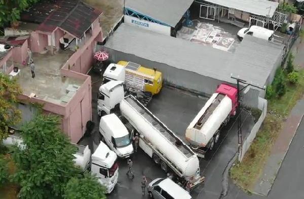 İstanbul'da akaryakıt operasyonu