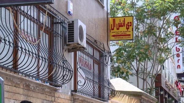 İstanbul Aksaray'da birçok Arapça tabela değiştirilmedi