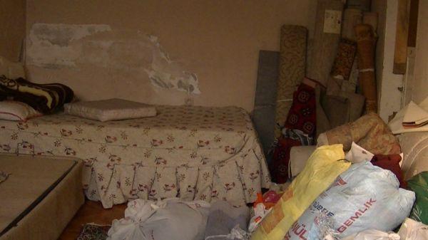 Zonguldak'ta 12 kişilik ailenin ev çilesi