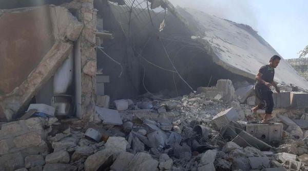 Esad rejimi İdlib'e saldırdı: 10 ölü, 23 yaralı