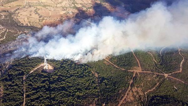 İzmir'de bir yangın haberi daha