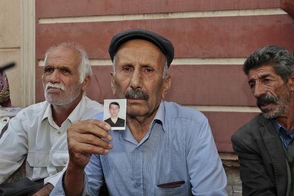 HDP önünde eylem yapan aile sayısı 23 oldu