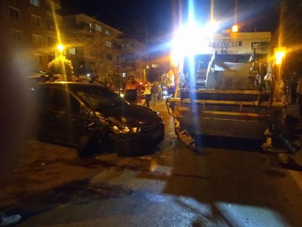 Bursa'da iki araç arasında kalan işçi öldü