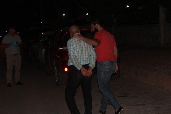 Polisten kaçtı, park halindeki araca çarptı yakalandı