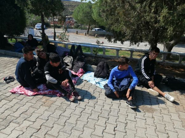 Çanakkale'de 45 mülteci geri teslim edildi