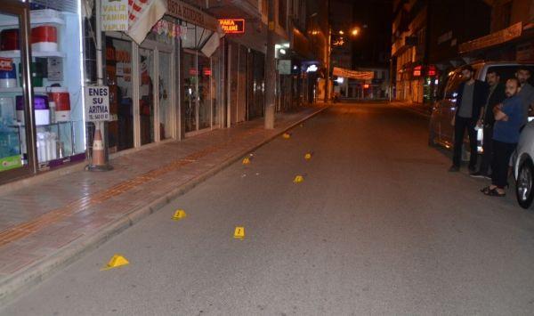 Bafra'da mahalle sakinleri silah sesleriyle uyandı