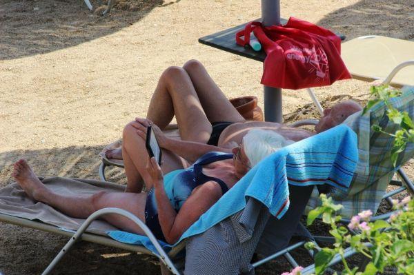 Bodrum'da eylül sıcakları kendini gösterdi