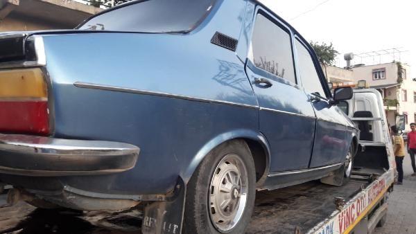 Adana'da otomobilinden daha pahalı ceza yedi