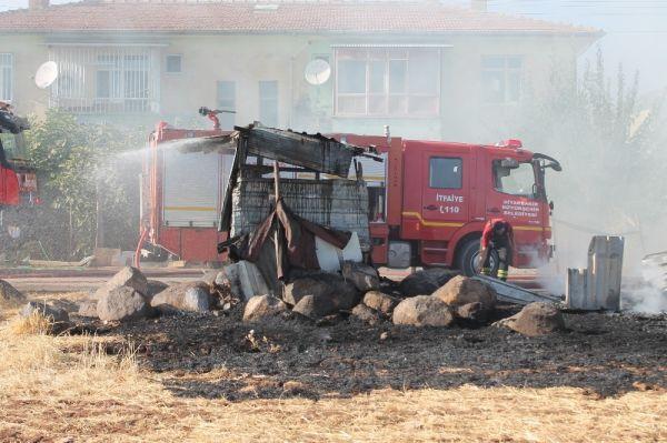 Diyarbakır'da yangın paniği