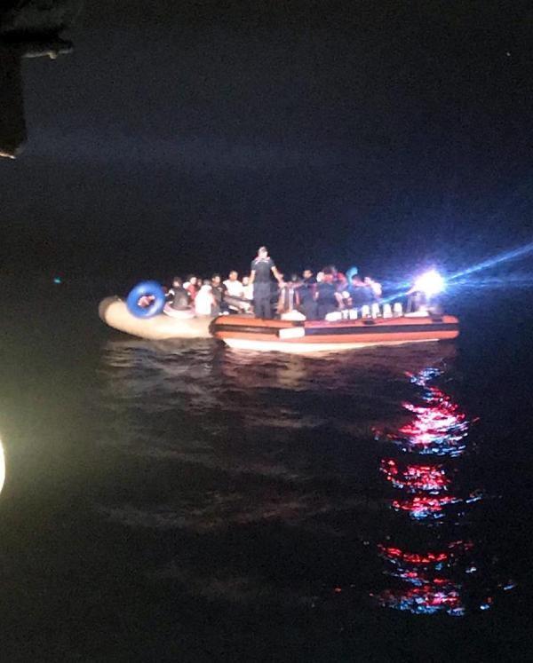 Ege'de 9 ayda yakalanan kaçak göçmen sayısı 36 bin