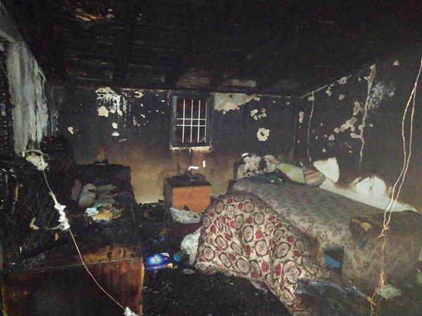 2 evinin yanışını gözyaşlarıyla izledi