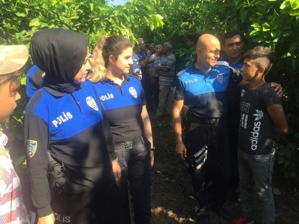Adana'da çocuk işçiler okula kazandırıldı